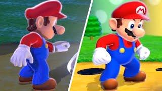 Bowser's Fury VS Super Mario 3D World - Intro Cutscene Comparison