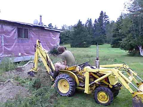 Yanmar 155d 4x4 Compact Tractor Backhoe Youtube