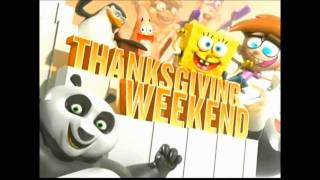 (HQ) Nickelodeon Thanksgiving Weekend 2011 Official Promo