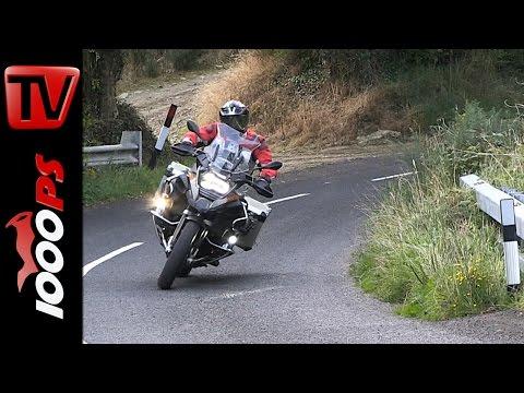 BMW R 1200 GS Adventure Test 2015 - Nordirland Motorradreise