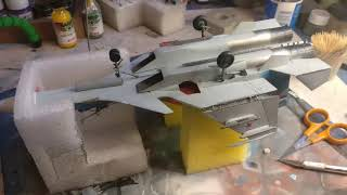 The troublesome build of My 1/72 Zvezda Sukhoi SU-33. A great kit!