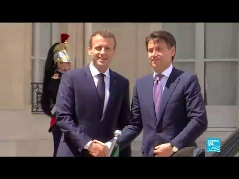 Sommet franco-italien à Naples: E. Macron renoue avec le président italien Giuseppe Conte