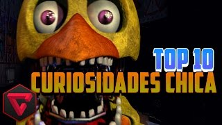 TOP 10 CURIOSIDADES DE CHICA | Five Nights at Freddy