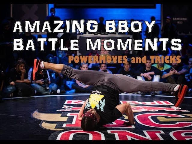 Amazing Bboy Battle Moments | Crazy Bboys Powermoves & Tricks