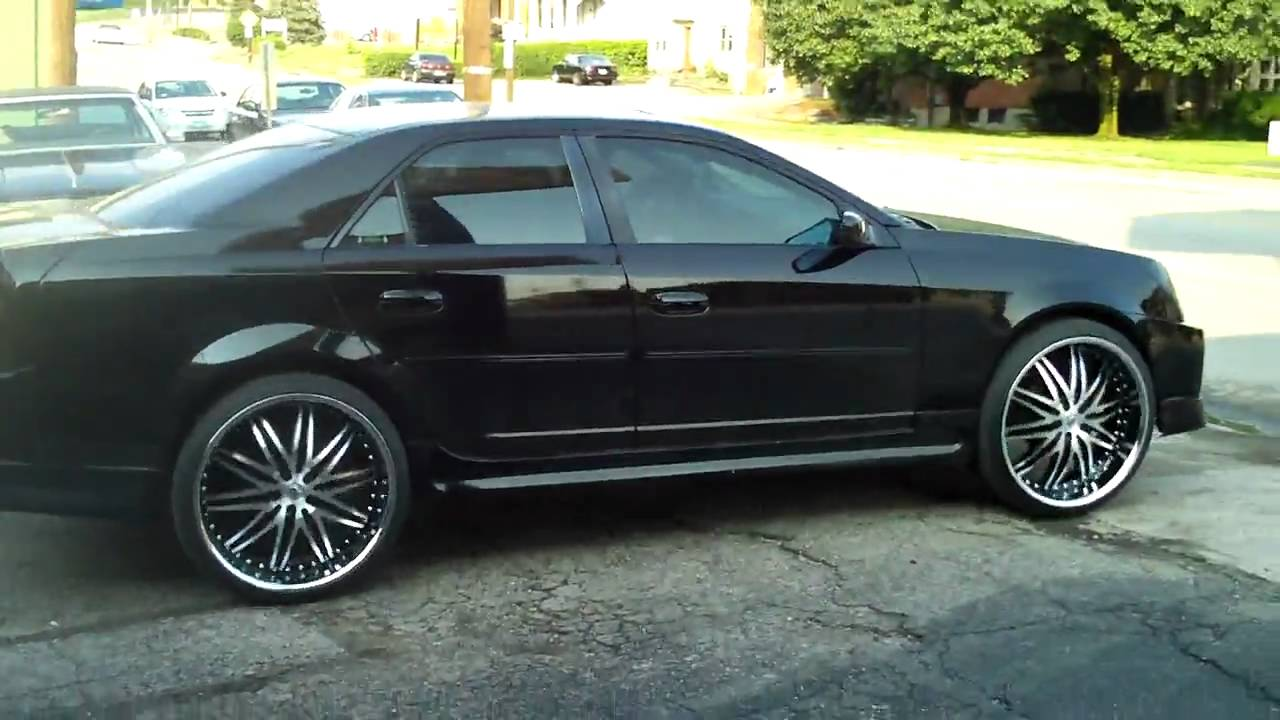 Thick Jimmy Cts On 24 Lexani Lx 10 And Body Kit Drive Away