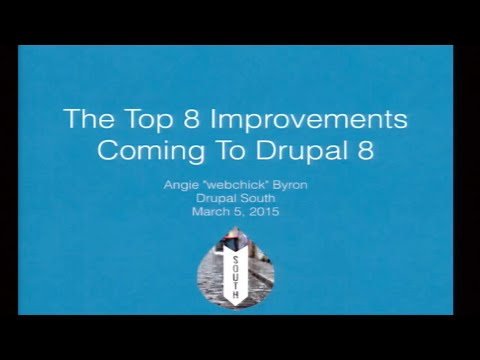Drupal 8 -  What you need to know
