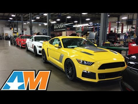 Roush Performance- HUGE Car & Mustang Collection Tour