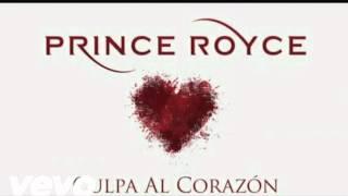 Prince Royce Karaoke  Culpa Al Corazón