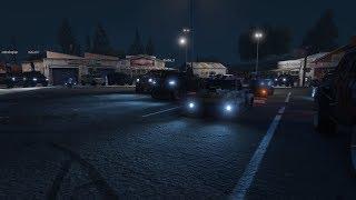 Livestream - GTA 5 - TRUCK MEET and Racing Playlist PS4