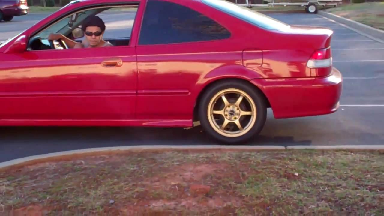 Delightful Honda Civic Ex 2000 Burn Out Practice