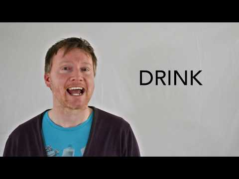 Drink - Spotlight's Word of the Day