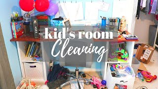 KIDS ROOMS CLEANING MOTIVATION // Cleaning Mom