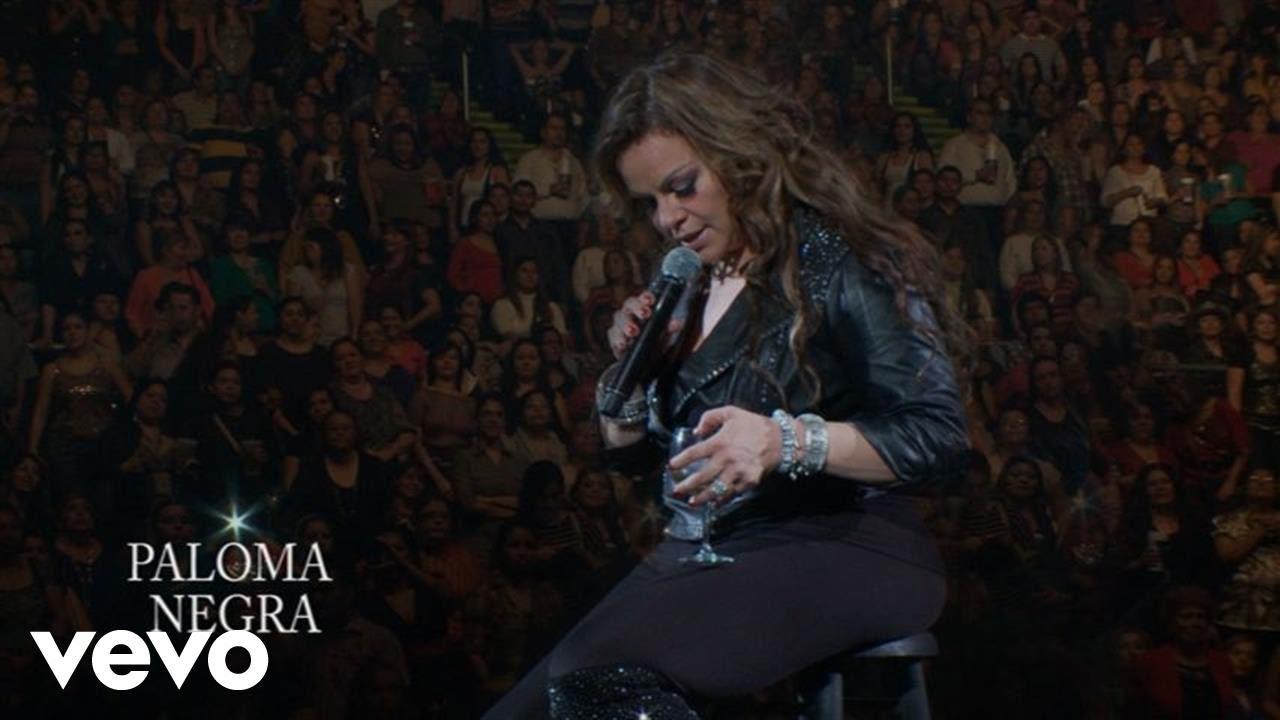 Jenni Rivera Paloma Negra En Vivo Desde Monterreylyric Video