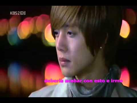 Kim Hyun Joong  Because I'm Stupid sub español Casi el Paraíso boys over flowers