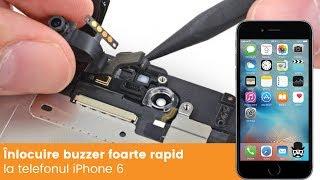 Inlocuire foarte rapida buzzer iPhone 6