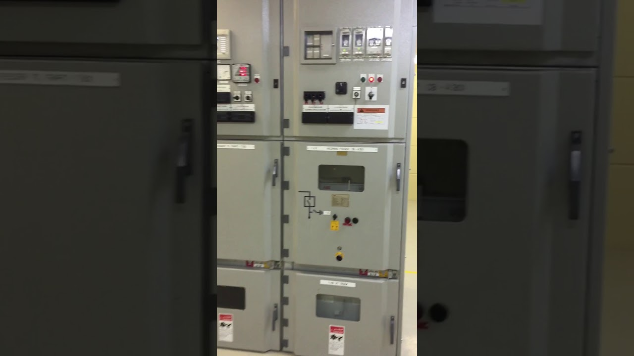 ABB 13.8KV Switchgear | 13.8KV Switchgear ABB - YouTube