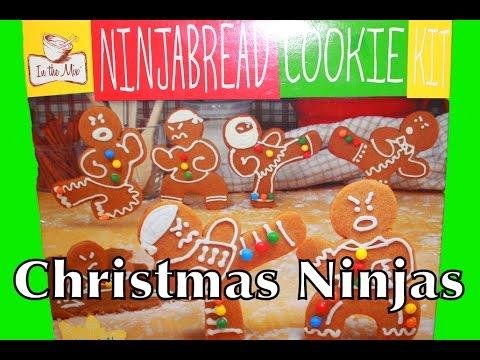 Christmas Cookies Recipe Gingerbread Ninjabread Nerdy Nummies ...