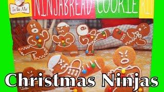 Christmas Cookies Recipe Gingerbread Ninjabread Nerdy Nummies Ninja Bread Cookie Toy Sugar Cookies