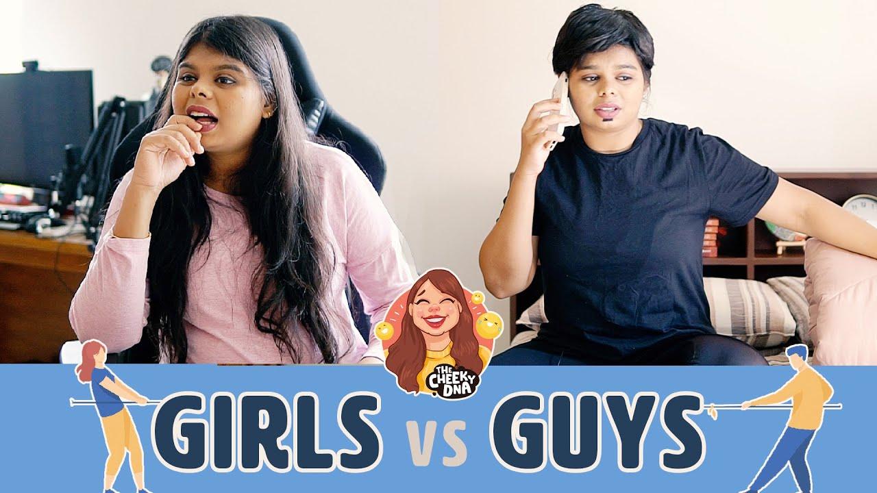 Guys vs Girls - Life Edition | The Cheeky DNA