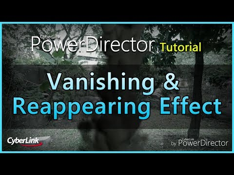 Create A Vanishing And Reappearing Effect With Powerdiector Mobile App Youtube