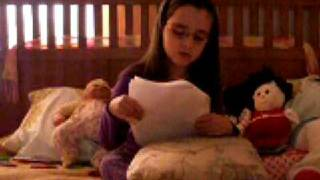 Justine sing Indian Tribes of Utah song