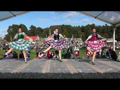 Flora MacDonald's Fancy Highland Dance Competition During The 2019 Braemar Gathering Highland Games