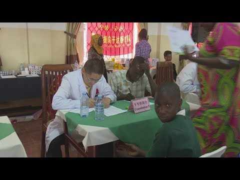 Chinese medical Team Aid to Kayunga Uganda