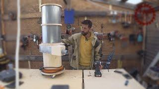 Промышленный пылесос своими руками. Industrial vacuum cleaner do it yourself. Bosch Professional