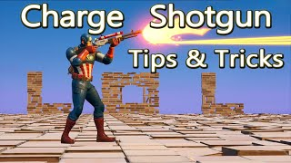 How to use the Charge Shotgun