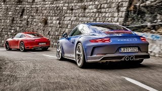 Porsche 911 Carrera T Vs Porsche Gt3 Touring | Top Gear