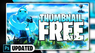 Fortnite Chapter 2 Thumbnail Template [ + PHOTOSHOP FREE DOWNLOAD ]
