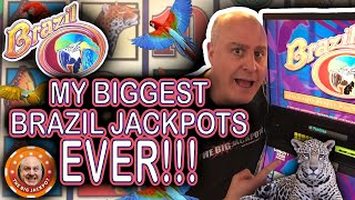 💥MY BIGGEST JACKPOT$ ON BRAZIL EVER COMPILATION! 💥 Huge Jackpots Incoming! (MUST SEE)
