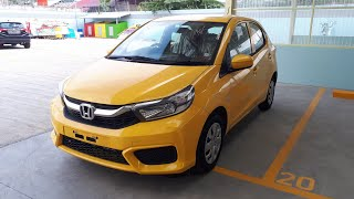 All New Brio Satya S MT Carnival Yellow [Honda Samarinda]