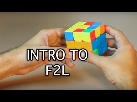 Easiest Way on How to solve a 3x3x3 Rubik's Cube: Intro to F2L