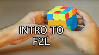 Video Easiest Way on How to solve a 3x3x3 Rubik's Cube: Intro to F2L download MP3, 3GP, MP4, WEBM, AVI, FLV Januari 2018
