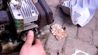 Ремонт стартера триммера AL-KO ( проскальзывание )