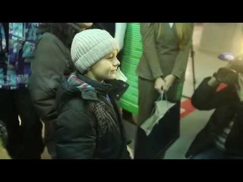 Флэшмоб в Аэропорту ТОМСК Полумиллионный пассажир