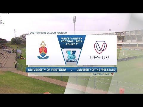 Varsity Football | Tuks V UFS | Highlights