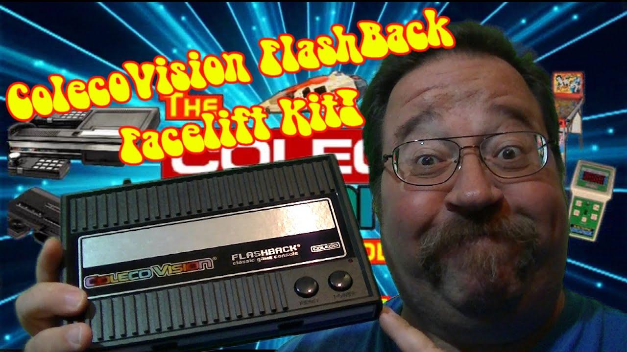 The ColecoVisionUT! ColecoVision Flashback Facelift Kit!