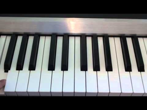 Martin Garrix - Animals - Piano Tutorial  (How to play on piano)