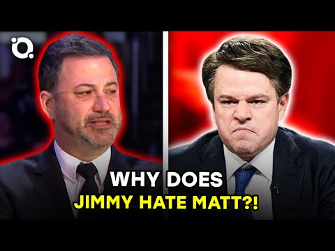 Jimmy Kimmel vs Matt Damon: The Full History Of Their Feud | OSSA