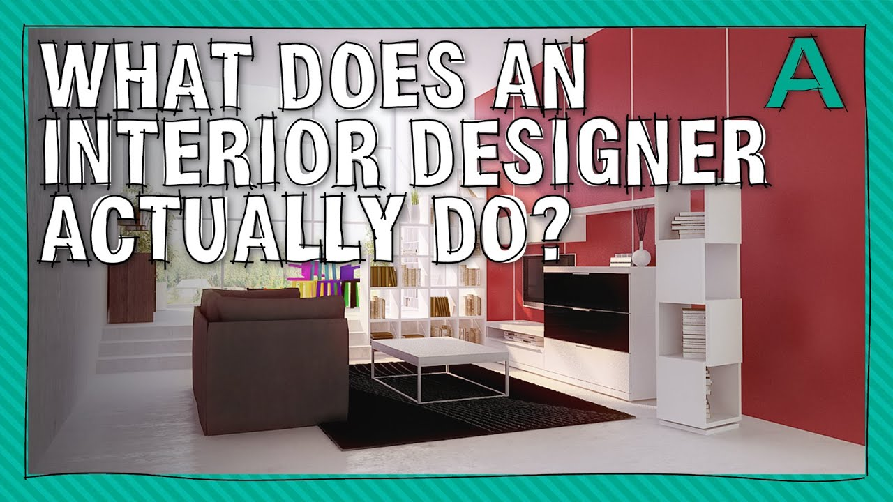 What does an interior designer actually do articulations