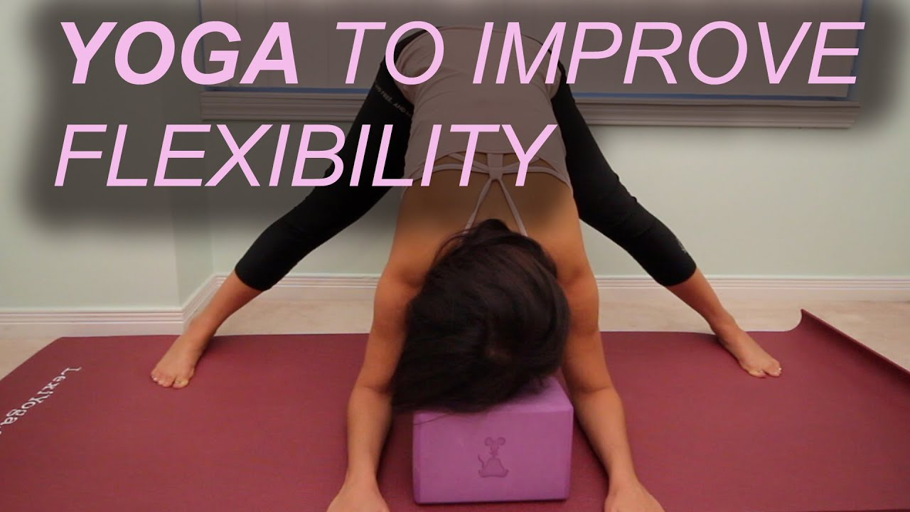 4 Yoga Poses For Flexibility Using A Block