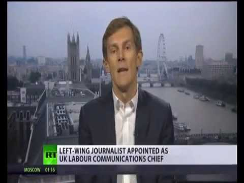 Seumas Milne appointed as Jeremy Corbyn's Director of Communications. Tony Gosling on RT