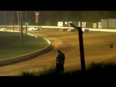 Roaring Knob Speedway: Fast Track Crate Latemodel Heat Race on Saturday, September 3rd, 2016