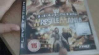 unboxing wwe legends of wrestlemania ps3