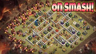 Max Hogs On Smash | Best Hogs Army 3 Star War Attack TH12 | Clash Of Clans war