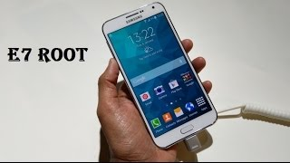How to Root Samsung Galaxy E7 SM-E700 without voiding warranty one click Root Tutorial