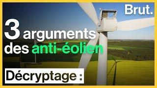 3 arguments des anti-éolien