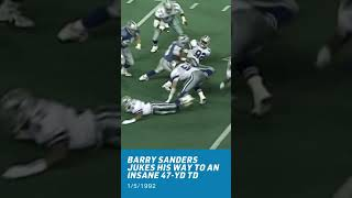 Greatest RB Ever? | Lions GOAT Play! #Shorts